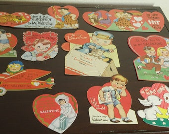 10 Valentines from the 50s and 60s