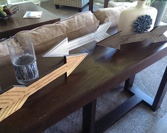 Cedar Arrow with Design