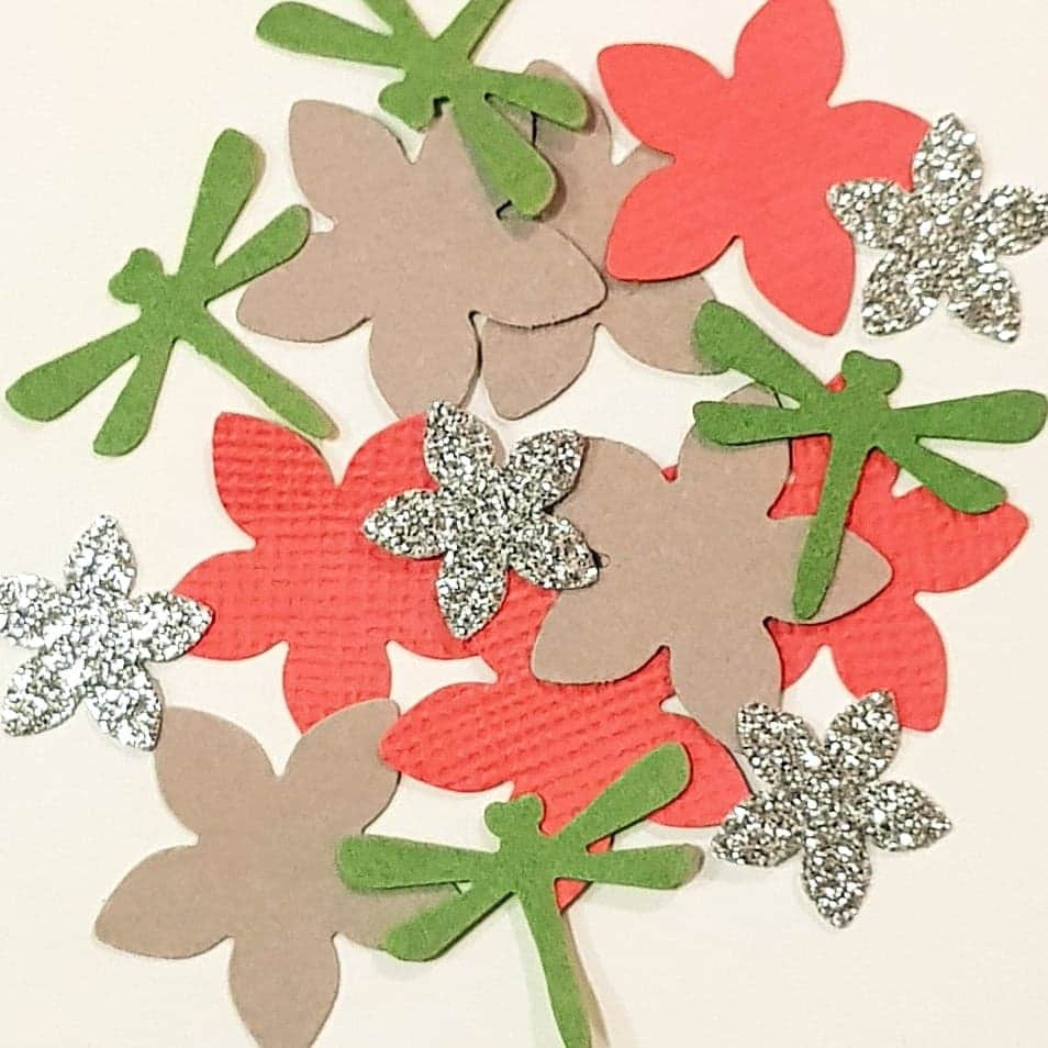 Exelent Paper Punch Flower Photo Images For Wedding Gown Ideas