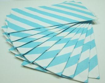 Blue Stripe Goodie Bags