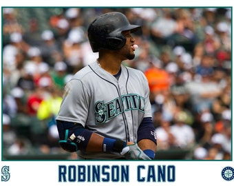 Robinson Cano Seattle Mariners Canvas Wrap