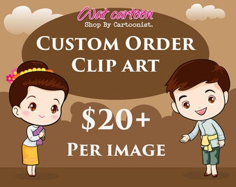 Custom Illustration - Custom ClipArt - Custom Graphic - Custom Cartoon