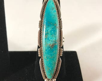Navajo Modern Sterling Silver Ring