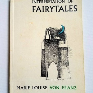 """1970 """"Interpretation of Fairy Tales"""" Marie-Louise Von Franz. Private limited edition (900). Spring Publications. Psychology. Carl Jung."""
