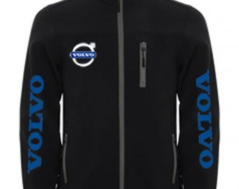 VOLVO Stylish Soft Shell Jacket Wind And Water Resistant