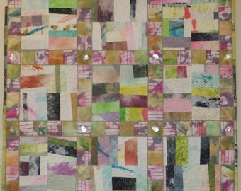 Chunky Nine Patch Art Quilt