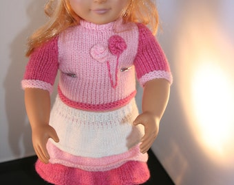 "Hand Made 18"" New Generation Doll's Outfit"