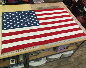 Hand made American flags
