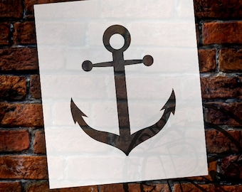 Anchor - Art Stencil - Select Size - STCL1265 by StudioR12