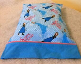 Pillowcase Flannel Sisters Frozen Standard Size