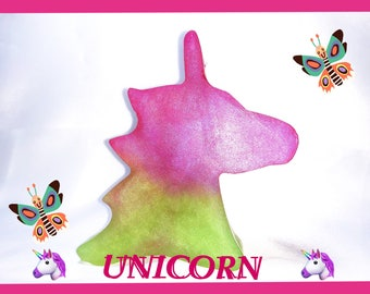 UNICORN SOAP   Organic base Oils   Sweet Fruit scent   Rainbow Bar Soap   Girl Gift