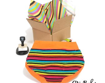 Custom Kids Underwear - Girls Underwear - Boys Underwear - Kids Underwear - Childrens Underwear - Unisex Underwear - Undies -Panties-Rainbow