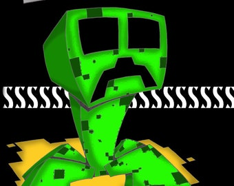 Creeper from Minecraft