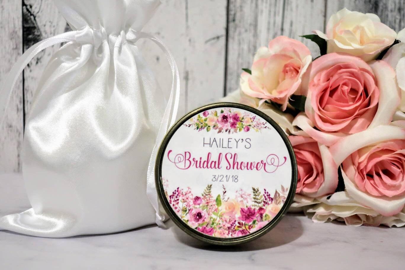 Bridal Shower Favors - Floral Bridal Shower Favors - Bridal Shower ...