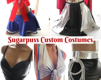 Sugarpuss Custom COSTUME ORDER DEPOSIT, Halloween Costumes, Cosplay, Custom Made Costumes