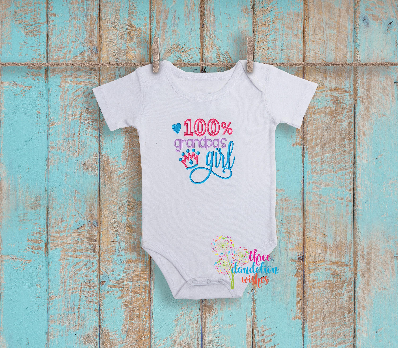 Grandpa s Girl Baby Bib Terry cloth bib baby bib baby shower
