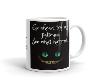 "Go Ahead"" Mug by SNARKEEZ made in the USA"