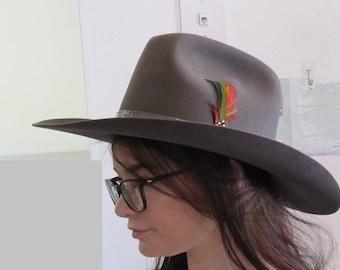 Vintage Stetson  Cowboy Hat 4X Felt Mint Condition