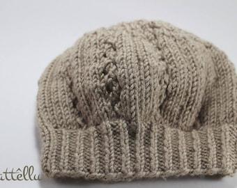 Slouchy Beanie Lace Design / Urban Hat / Urban slouchy beanie