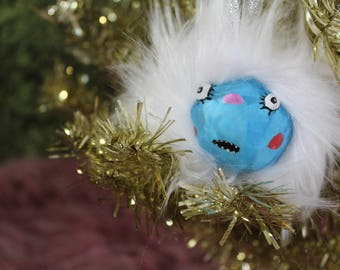 Abominable Baby Holiday Ornament