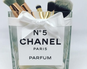 Chanel no5 Paris parfum make up brush holder
