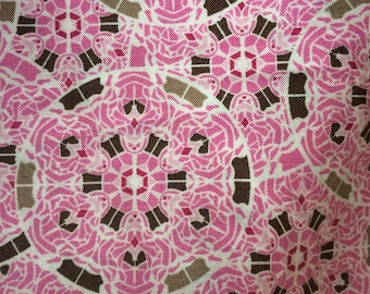 Nursing Cover WITH Pockets Pink Mosaic