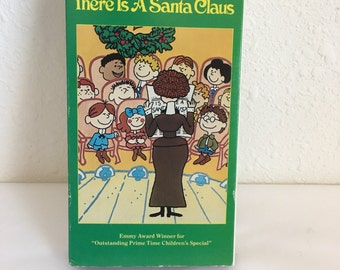 VHS Tape, Yes Virginia, There is a Santa Claus, New Sealed in Box, Vintage Christmas Cartoon