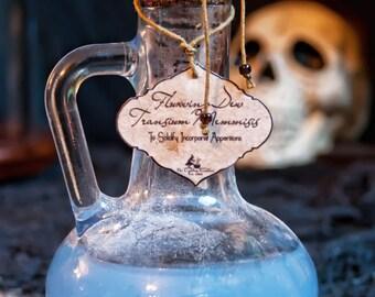 Potion bottle: FluxWing Dew ~ Transium Memmisis ~