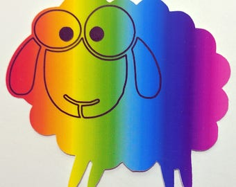 Rainbow Sheep - CHARITY DONATION to The Trevor Project
