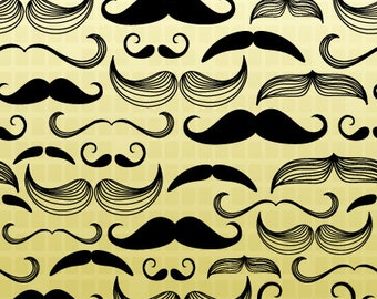 Hello! Mustache Pattern