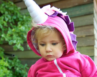 Unicorn Sweater, Baby Girl Unicorn, Pink Unicorn, Unicorn Party Outfit, Baby Hoodie, Birthday Gift, Unicorn Birthday Party, Unicorn Kids