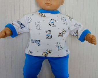 """15"""" Doll Clothes 2 Piece Outfit for Bitty Baby Type 15"""" Dolls"""