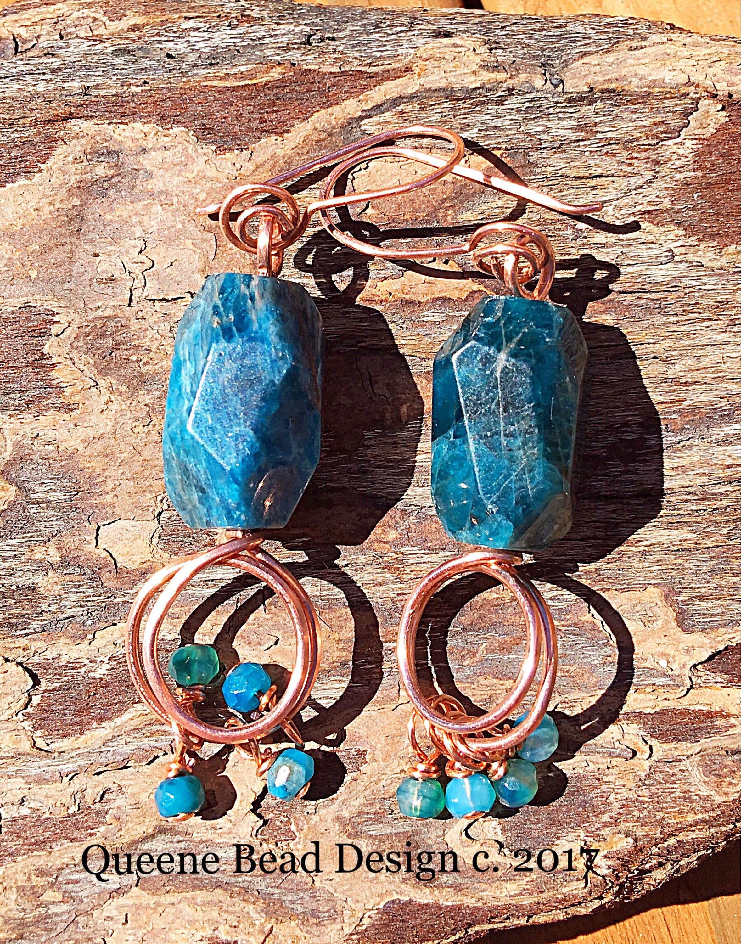 gallery jewelry lyst and earrings kendra scott plated brass aqua apatite juniper