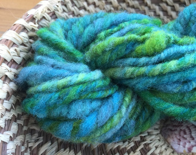 Insouciant Studios Hand Spun Yarn Sea Dragon