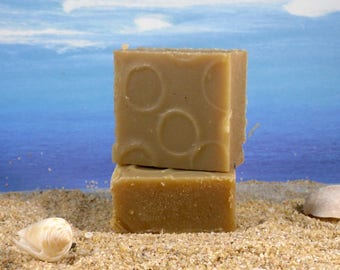 Shampoo  Mini Bar, Seaweed and Lemongrass  / Natural Hair Care, Natural Shampoo for Oily Hair, Tea Tree Shampoo, Sulfate Free Shampoo