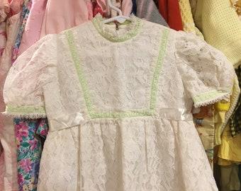 70s Maxi Dress Girls 5/6