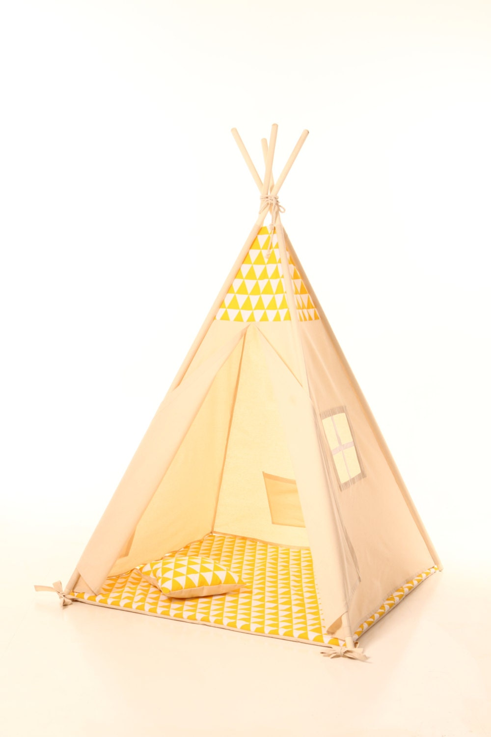 Kids Teepee Tent Plain Cotton Indoor Children S Tipi