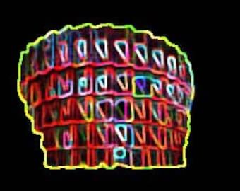 Unique Digital Download- Jpeg- 'Glowing Kuggen'
