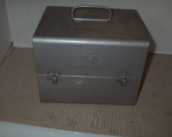 Vintage Movie Film Canister with Film