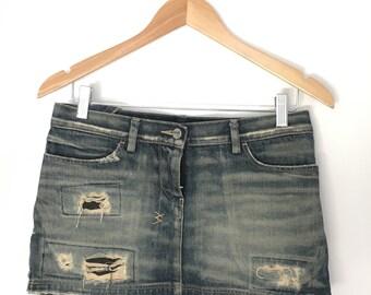 Tsubi denim mini skirt