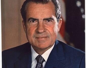 Richard Nixon image 8 1/2 x 11 8 x 10 image
