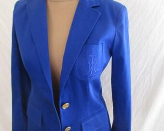 Jacket Ralph Lauren blue size 36 in-74