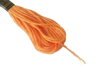 1 skein 8 m Mercerized cotton FLOSS-melon 188