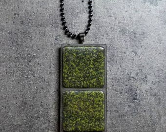 Mosaic pendant / Mosaic necklace  FREE SHIPPING!