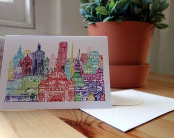 Melbourne Towers Card