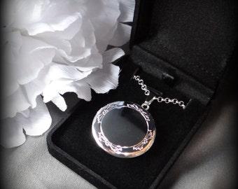 Silver Photo Locket Necklace