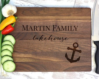 Lake House Cutting Board, Lake House Sign, Lake House Decor, Lake House Signs, Lake House Wood Sign, Wood Lake House Sign, Housewarming Gift
