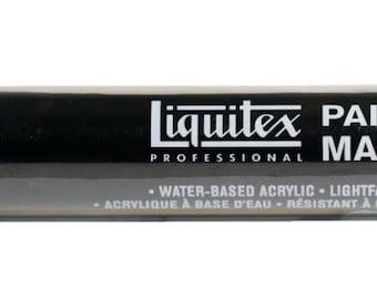 Liquitex Paint Marker Carbon Black, Acrylic Paint Pen, Waterbased Paint Marker, Black Paint Marker, Art Supplies