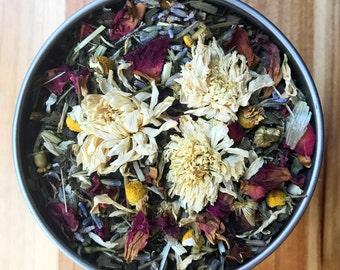 Calm Tea - Organic Herbal Tea - Helps promote natural feelings of calm and relaxation
