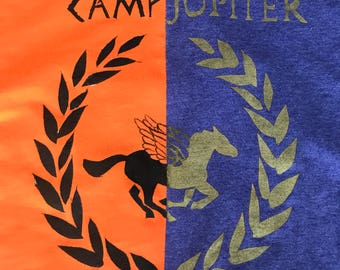 Camp Halfblood / Camp Jupiter Tees